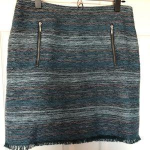 LOFT woven skirt